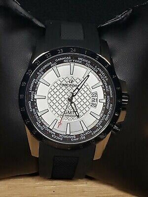 NEW Time Force Watch Traveler GMT Automatic 24 Jewels NH35 Movement  • 97.56£