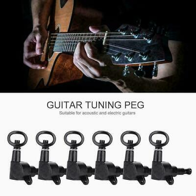 $ CDN14.47 • Buy 6pcs Guitar String Tuning Pegs Locking Tuners Machine Heads For Electric Guitars