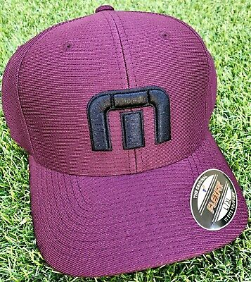 58fc652a8bf15 New Rare Pga Tour Exclusive Maroon Travis Mathew Bahamas Hat L Xl Large  Issue