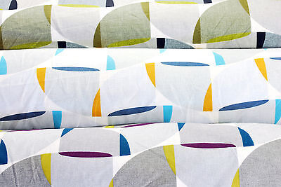 Soft Furnishing And Craft Fabric, 3 Colourways, 100% Cotton,  By The Metre • 6£