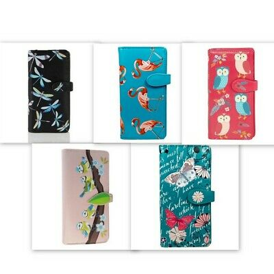 Shagwear Ladies Wallet, Large Purse: Various Bird And Insect Designs • 23.99£