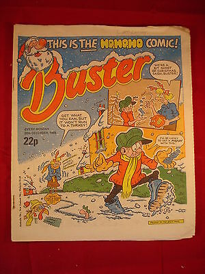 The Buster Comic - 28th December 1985 • 3.49£
