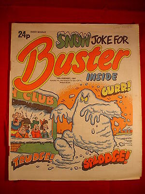 The Buster Comic - 10th January 1987 • 3.49£
