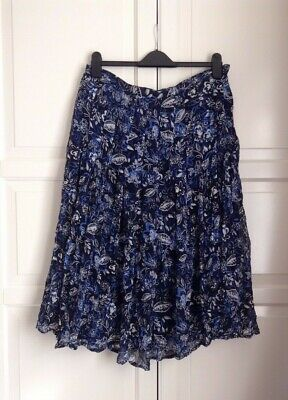 COTSWOLD COLLECTION ,Wrinkle Pleated Floral Print Skirt UK Size ( 18 ) RRP-£120  • 15£