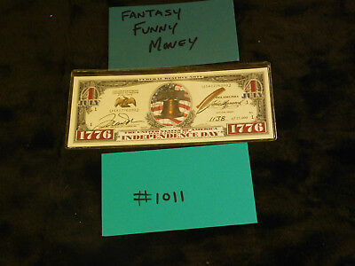 $5 • Buy Gag Gift, Fantasy, Silly Currency Crazy Fun Money! Fake Money Collectible  #1011
