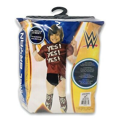 £21.58 • Buy Boys Child Muscle Chest DANIEL BRYAN Deluxe WWF WWE Licensed Costume 2015