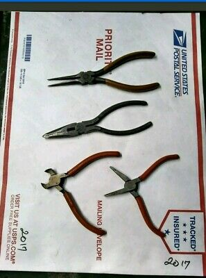 $ CDN49.93 • Buy Vintage Small End Cutting & Round Nose Pliers- Watchmaker Jewelers Watch Tools