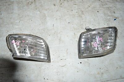 P2M CRYSTAL FRONT HEADLIGHT CORNER LAMP FOR NISSAN S13 SILVIA PHASE 2