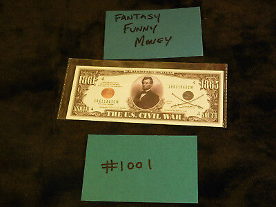 $5 • Buy Gag Gift, Fantasy, Silly Currency Crazy Fun Money! Fake Money Collectible  #1001