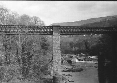 Photo  Gwr Taff Vale Railway  Viaduct At Pontypridd • 1.90£
