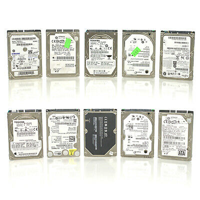 $ CDN94.47 • Buy Lot Of 10 Assorted 2.5  120GB 5400RPM 1.5Gbps 8MB SATA Laptop Mobile Hard Drive