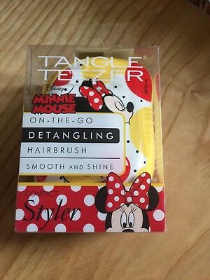 Tangle Teezer Minnie Mouse Compact Styler BNIB • 13£