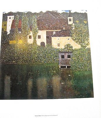 $ CDN36.96 • Buy Gustav Klimt  Poster Schloss Kammer On The Attersea I House By The Sea 15 1/2x12