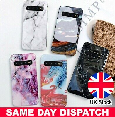 $ CDN5.06 • Buy Marble Case For Samsung Galaxy S9 S8 S10e Plus Shockproof Silicone Phone Cover