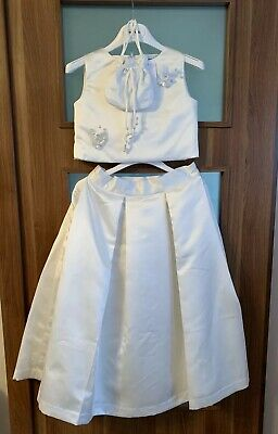 £49.99 • Buy Marie Amelie Holy Communion, Bridesmaid Top And Skirt Set + Bag Age 10