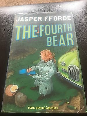 Jasper Fforde - The Fourth Bear - Signed - UK First First Edition Hardbook • 12£