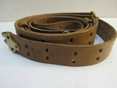 $34.95 • Buy WWI US M1907 Leather Sling M1903 Springfield Marked HOYT 1917 REPRO M1917
