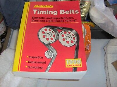Autodata Timing Belts Book