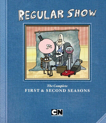 Regular Show: The Complete First And Second Seasons (Seasons 1 / 2) BLU-RAY NEW • 29.33£