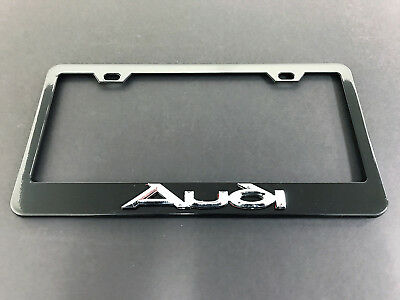 Audi Plate Frame >> Audi A4 License Plate Frame Compare Prices On Dealsan Com