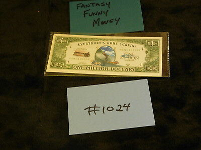 $5 • Buy Gag Gift, Fantasy, Silly Currency Crazy Fun Money! Fake Money Collectible  #1024