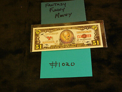 $5 • Buy Gag Gift, Fantasy, Silly Currency Crazy Fun Money! Fake Money Collectible  #1020