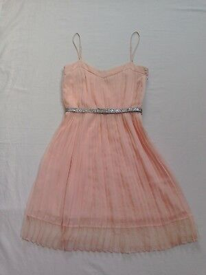 £11.50 • Buy Mango Ladies Teenagers Formal Party/Prom Peach Strap Dress Size EUR XS, US 2