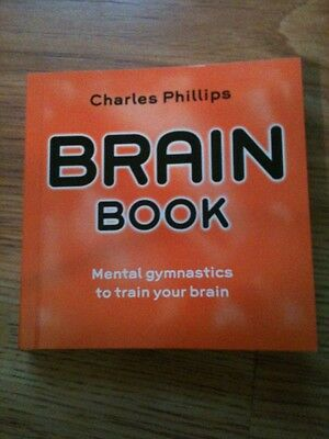 $7 • Buy Brain Book By Charles Phillips (Book Only)