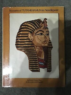 Treasures Of TUTANKHAMUN In Needlepoint (Hardcover) By Robert Horace Ross  • 5£