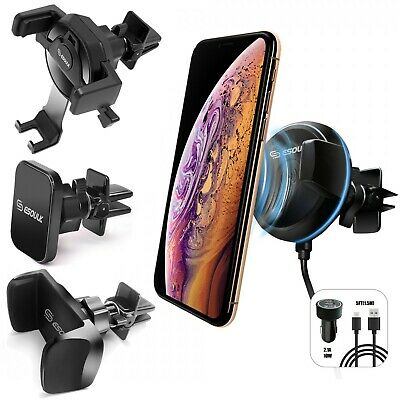 $7.99 • Buy Universal Car Mount Air Vent Holder Stand For Cell Phone Samsung IPhone GPS