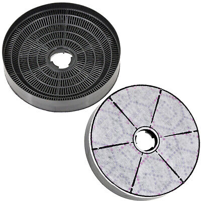 CARE + PROTECT Cooker Hood Carbon Filter For LAMONA LAM2100 Extractor 170mm X 2 • 38.29£