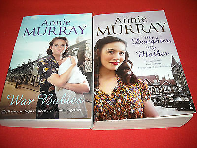 Annie Murray - 2 Paperbacks In One Lot Top Value Top Condition • 3.75£