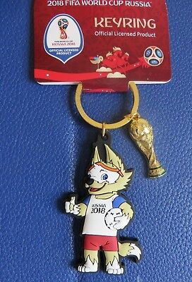 £16.99 • Buy World Cup Russia 2018 Mascot Zabivaka With Trophy Tag - Official New ....france