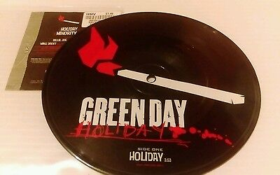Green Day Holiday UK 7  Vinyl Picture Disc Single W664 WARNER 2005 • 14.99£