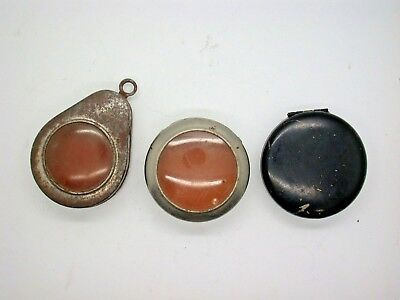 $ CDN43.35 • Buy Three Vintage Otter Cases For Pocket Watches Watch Repair Parts & Tools - 9A14