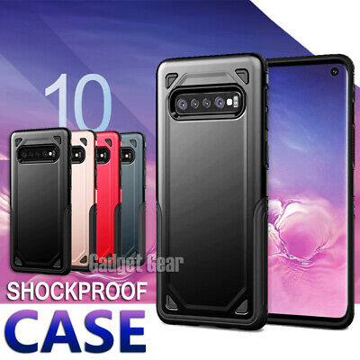 AU5.99 • Buy Shockproof Case For Samsung Galaxy S10E S10 Plus Cover Hard Heavy Duty Tough