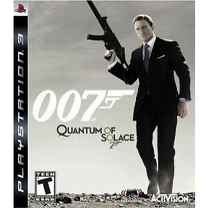 $10.59 • Buy Bond 007: Quantum Of Solace PLAYSTATION 3 (PS3) Shooter (Video Game)