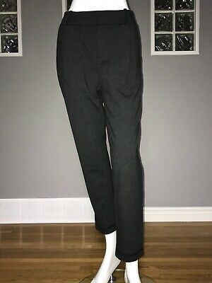 $ CDN68 • Buy Lululemon Stress Less Pant 10 Heathered Dark Gray Terry Trouser To And From