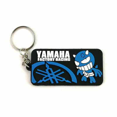 AU10.95 • Buy Yamaha Factory Racing Blue Rubber Keyring Keychain Key Chain Key Ring Gift