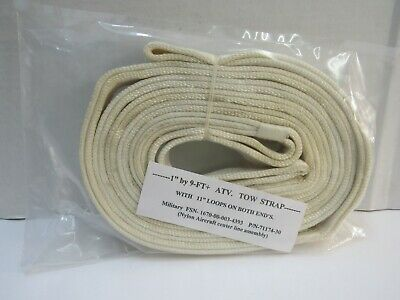 $14.95 • Buy US Aircraft Center Line Assembly Nylon Military Great ATV Tow Strap 1  X 9 FT