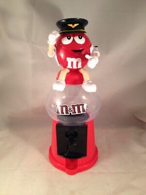 Rare M & M Sweet Dispenser Pilot • 7.90£