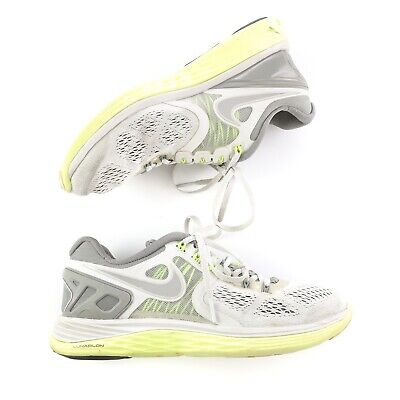 sports shoes f58bb 19b2f Nike Lunar Eclipse 4 Womens Running Shoes Athletic Sneakers Gray Size 8 •  24.82
