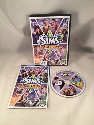 £5.99 • Buy Sims 3 Ambitions Expansion Pack PC/ MAC Game - Simulation Role Play RPG USED