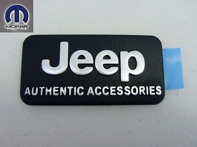 $28.99 • Buy 00jeep 1997 - 2013 Front Fascia Emblem Nameplate Badge Decal