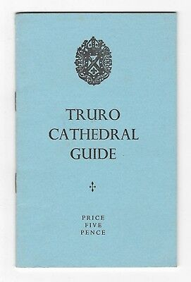 CORNWALL. Truro Cathedral Guide (Paperback Booklet/guide,1972)  • 2£