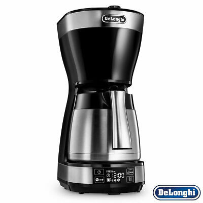View Details Ground Type Digital Interface Drip Filter Thermal Coffee Maker Machine In Black • 88.99£
