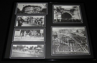 $79.99 • Buy Kennywood Park Pittsburgh Amusement Framed 16x20 Photo Collage Display