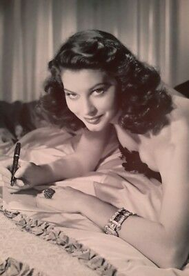 AVA GARDNER ICON MODEL AMERICAN ACTRESS SINGER 7x5  PICTURE PRINT WALL ART • 1.99£