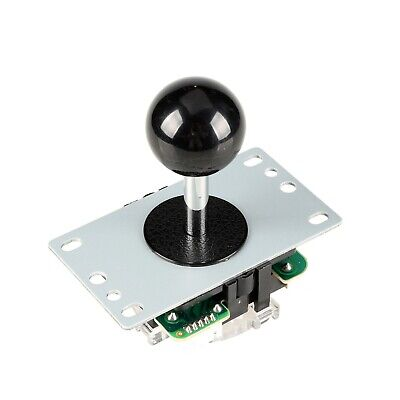 $9.99 • Buy Arcade Competition Black Handle Controller 8 Ways Joystick For Video Games Parts