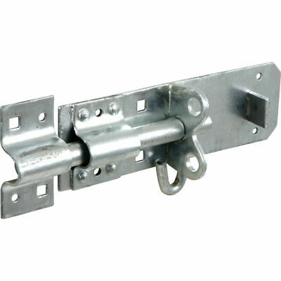 6 Inch Galvanised Brenton Slip Bolt & Fittings Zinc Plated Garden Gate Shed Lock • 5.16£